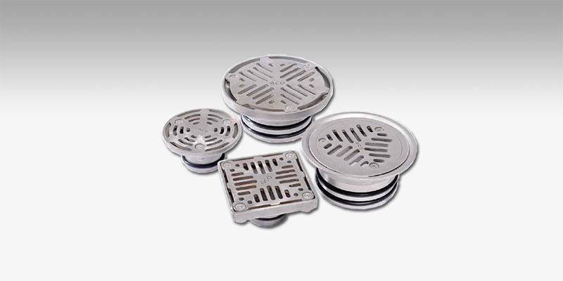 Cast Iron Floor And Roof Drains