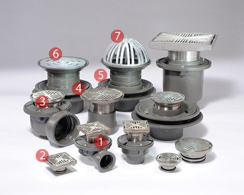 floor and roof drain solutions