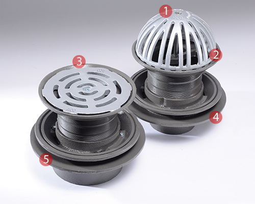 Roof Drains Features